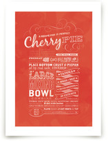 Cherry Pie Art Prints
