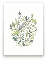 Muted Bouquet Art Prints