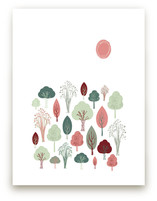 Friendly Forest Art Prints
