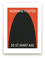 30 St. Mary Axe Art Prints