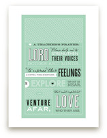 A Teacher's Prayer Art Prints