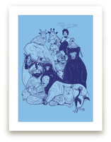Family Portrait Art Prints