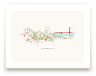 I Love San Francisco Art Prints