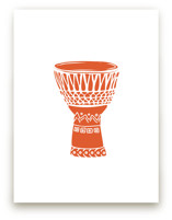 African Drum Art Prints