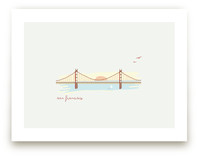 Afternoon in San Francisco Art Prints