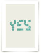 Definitely Yes Art Prints