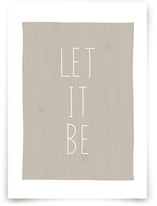 Let It Be Art Prints