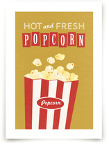 Movie Popcorn Art Prints