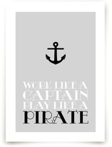 Pirate Captain Art Prints
