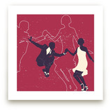 Dancing Couple Art Prints