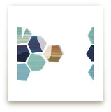 Hexagon I Art Prints