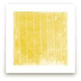 Abstract Herringbone Art Prints