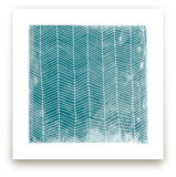 Abstract Herringbone Art Prints
