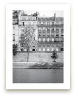 Morning Walk on the Seine Art Prints