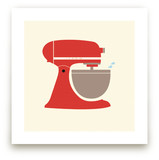 Vintage Kitchen Mixer Art Prints