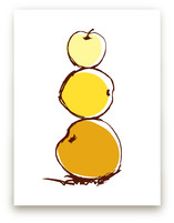 Stack of Apples Art Prints