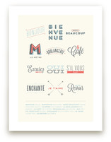 French Basics Art Prints