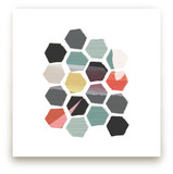 Hexagon II Art Prints