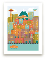 Vintage Seattle Art Prints