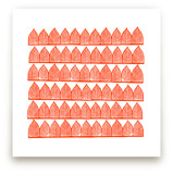 Block Printed Arches Art Prints