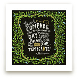 Summer Sonnet Art Prints