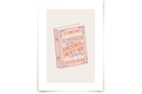 Miss Austen 1 Art Prints