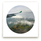Dublin to Heathrow Art Prints