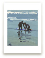 Surf lesson, Venice Beach Art Prints