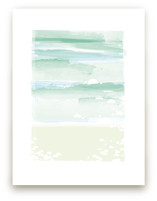 out to sea Art Prints