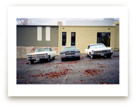Three Cars Art Prints