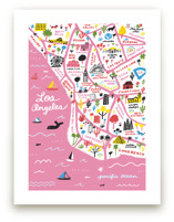 I Love Los Angeles Art Prints