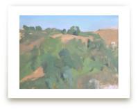 Italian Hillside by Elisabeth Larson