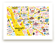 I Love Washington D.C. Art Prints