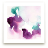 Watercolor Abstract Flora Series : Solice