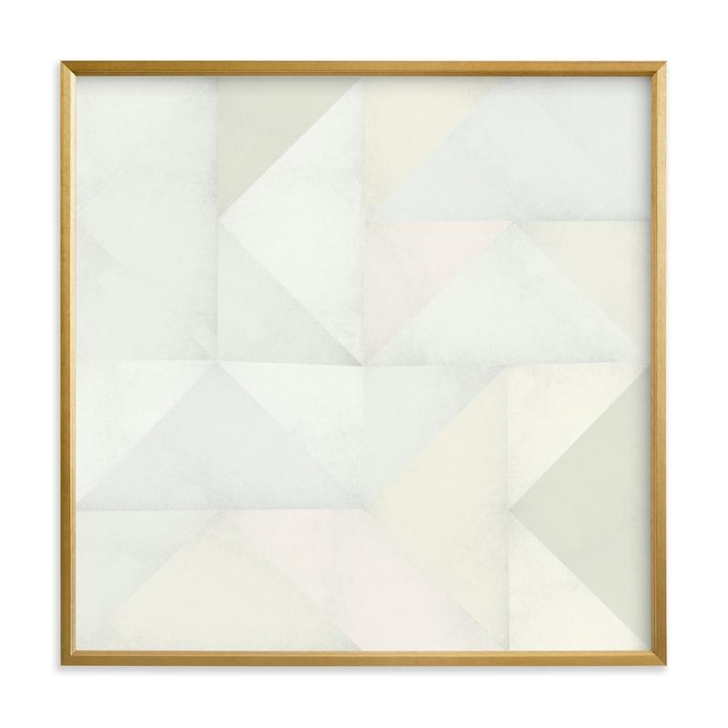 quilt block 01 Art Print