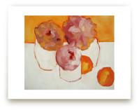 Peonies and Kumquats by Lynne Millar