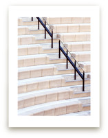 Stairs of the Getty 2 by Lisa Sundin