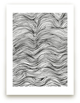 Ebb and Flow Ink Lines by Elliot Stokes