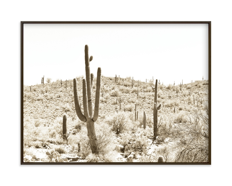Dusty Cacti Art Print