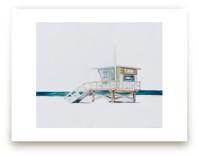 Hermosa Beach Lifeguard... by Viktoria Eperjesi