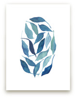 Blue Leaves by Tennyson Tippy