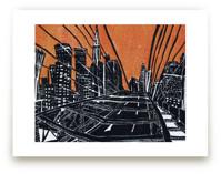 New York Bridge by Viktoria Eperjesi