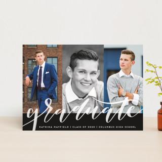 Accomplished Graduation Announcement Postcards