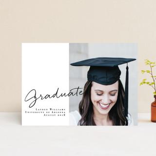 Essentials Graduation Announcement Postcards