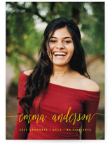 My Name Is Graduation Announcement Postcards