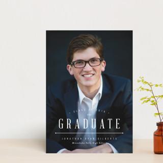 Elite Grad Graduation Announcement Postcards