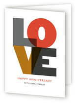 Love Anniversary Greeting Cards