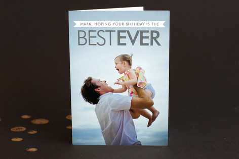 Best Ever Birthday Greeting Cards
