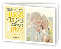 Doodle Words w/ Photo Greeting Cards