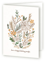 Muted Bouquet Greeting Cards